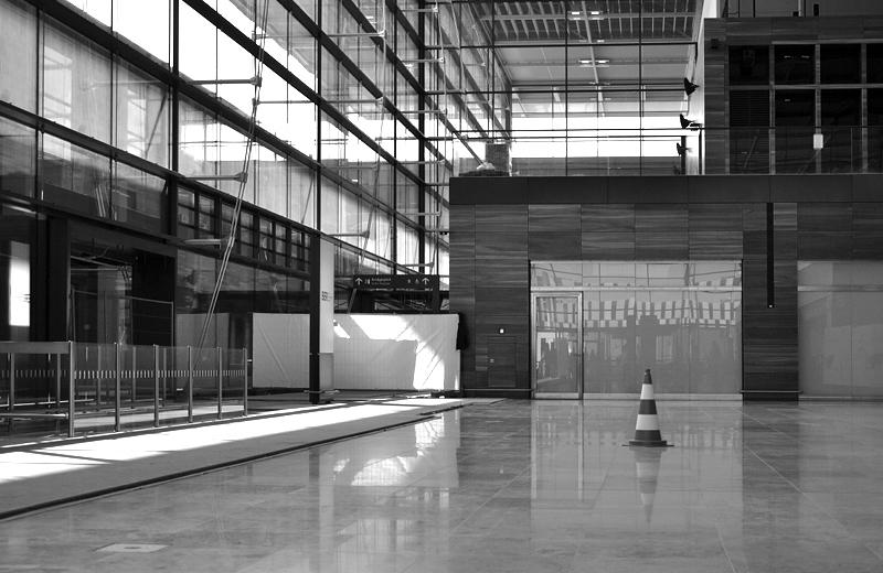 Abflughalle, BER, Flughafen Berlin Brandenburg