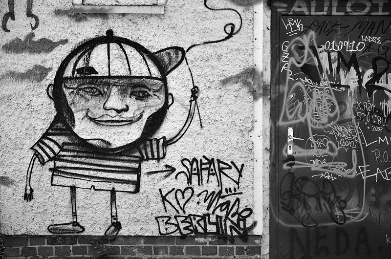 Spreepark Plänterwald im Herbst, Graffiti, Fabian Fröhlich