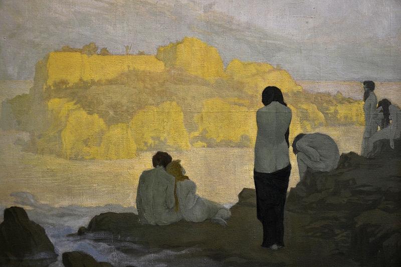 Alte Nationalgalerie, Georg Minne, Die goldene Insel