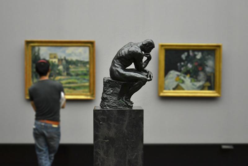 Alte Nationalgalerie, Auguste Rodin, Le Penseur