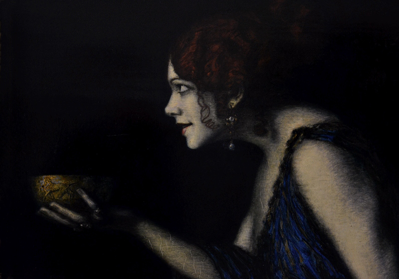 Alte Nationalgalerie, Franz von Stuck, Tilla Durieux als Circe