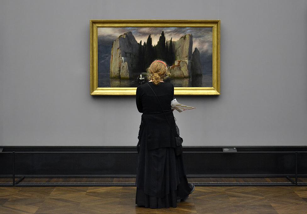Alte Nationalgalerie, Arnold Böcklin, Die Toteninsel