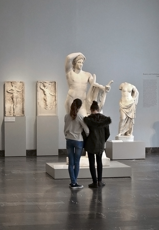 Berlin, Antikensammlung, Altes Museum, Apollo Lykeios