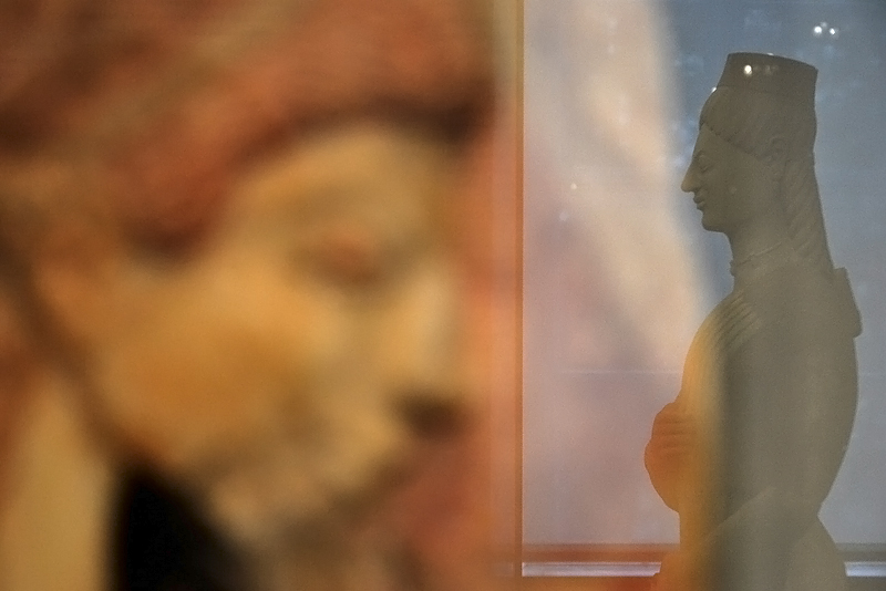 Berlin, Antikensammlung, Altes Museum, sogenannte Berliner Göttin