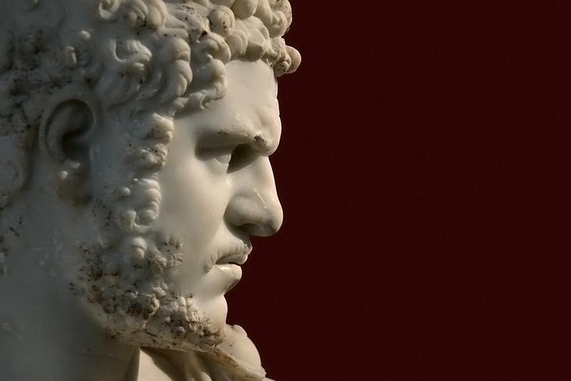 Berlin, Antikensammlung, Altes Museum, Büste Kaiser Caracalla