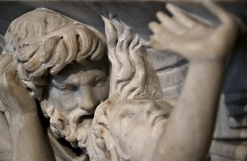 Berlin, Antikensammlung, Altes Museum, Römischer Medea-Sarkophag