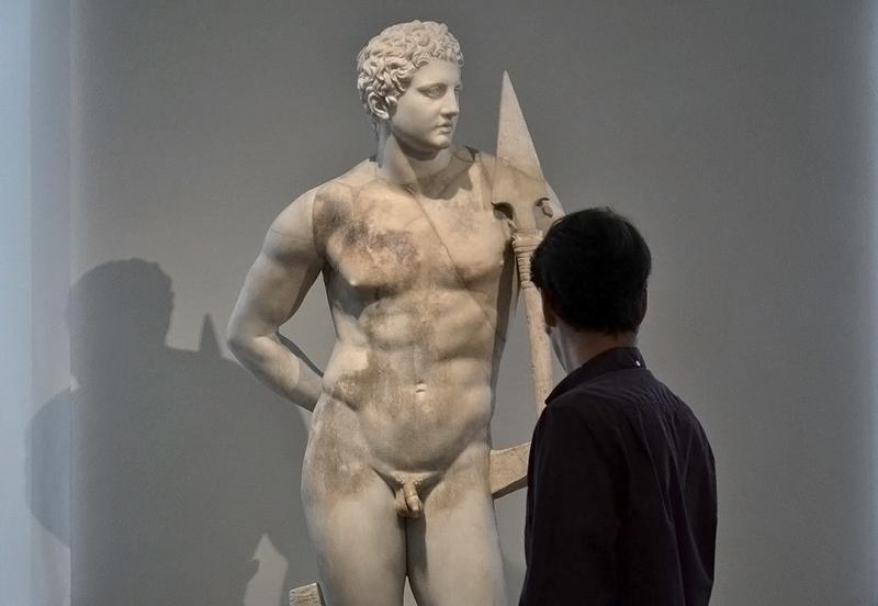 Statue des Meleager, Berlin, Antikensammlung, Altes Museum