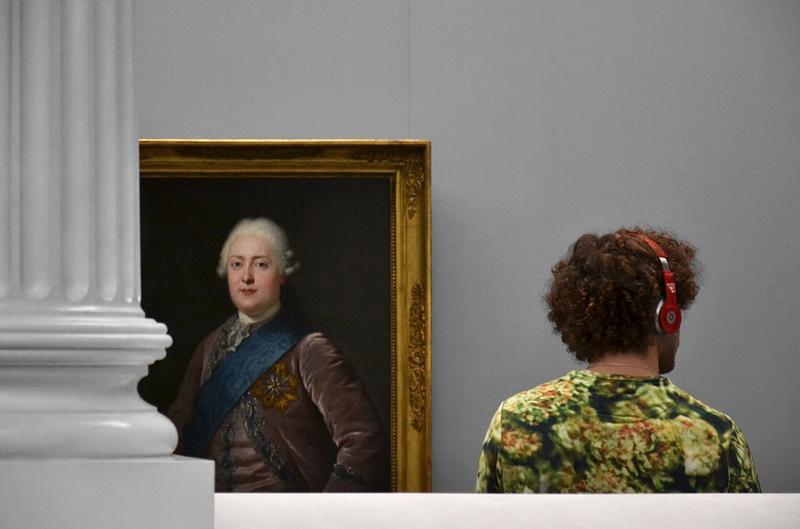 Alte Nationalgalerie, Anton Graff, Bildnis Friedrich August III. von Sachsen (Ausstellung Anton Graff - Gesichter einer Epoche)