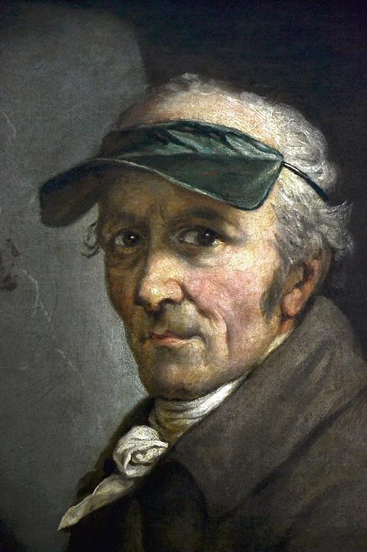 Alte Nationalgalerie, Anton Graff, Selbstbildnis mit Augenschirm (Ausstellung Anton Graff - Gesichter einer Epoche)