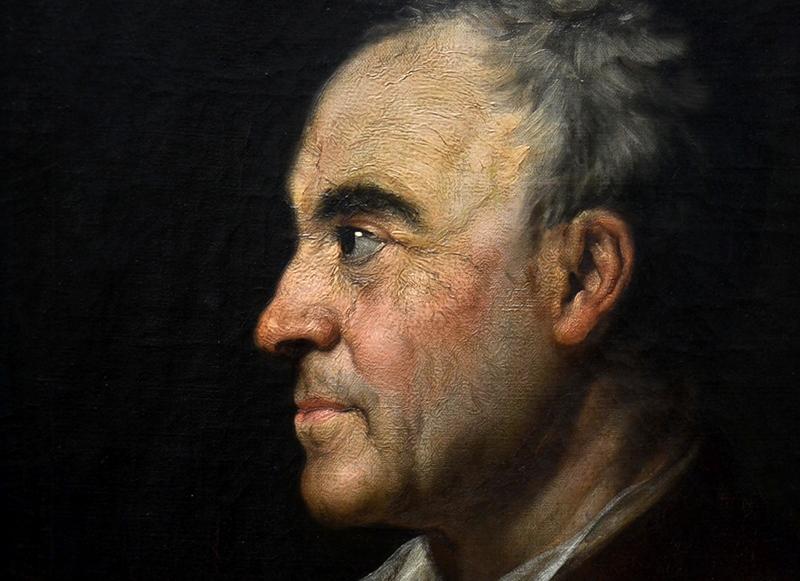 Alte Nationalgalerie, Anton Graff, Bildnis Johann Georg Sulzer (Ausstellung Anton Graff - Gesichter einer Epoche)