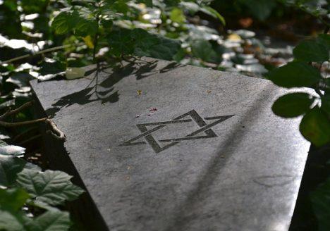 Jüdischer Friedhof Berlin Weißensee, Grabmal mit Davidstern