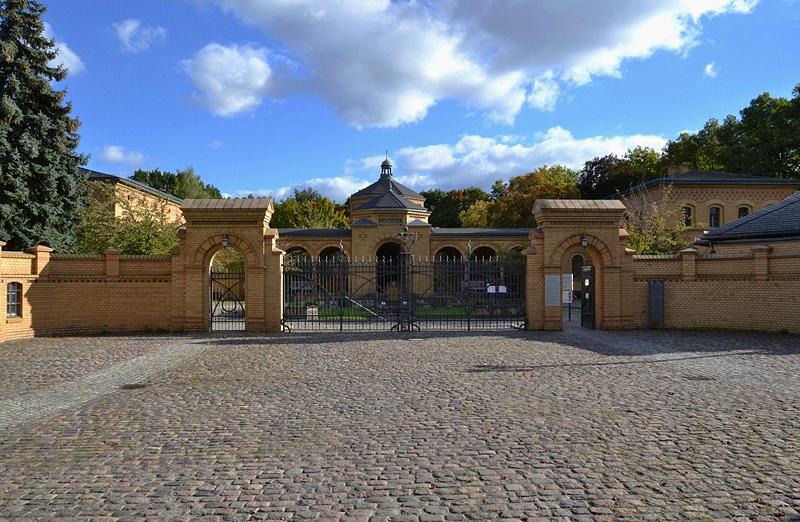 Jüdischer Friedhof Berlin Weißensee, Eingangsgebäude