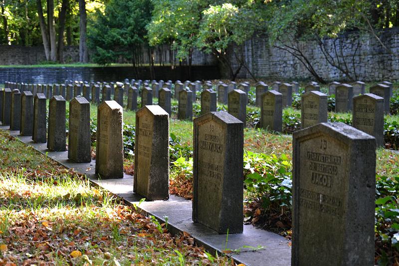 Jüdischer Friedhof Berlin Weißensee, Gräber der Gefallenen des Ersten Weltkriegs