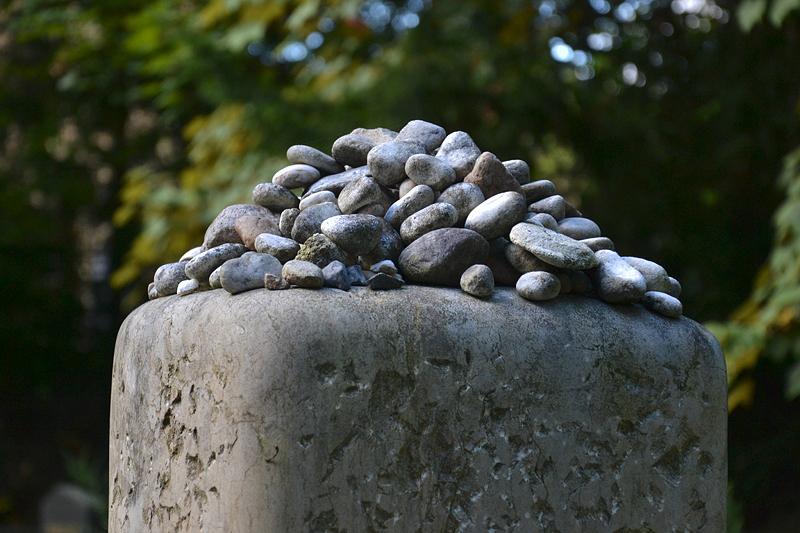 Jüdischer Friedhof Berlin Weißensee, Grab Stefan Heym