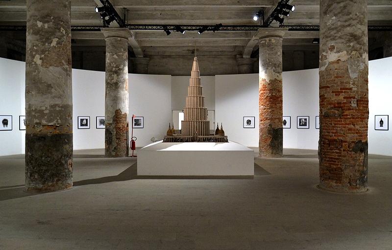 Biennale 2013, Arsenale, Marino Auriti, Encyclopedic Palace of the World