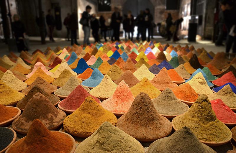 Biennale 2013, Arsenale, Sonia Falocone, Color field, Laitin-American Pavilion
