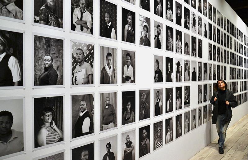 Biennale 2013, Arsenale, Southafrica pavilion, Zanele Muholi, Faces and Phases