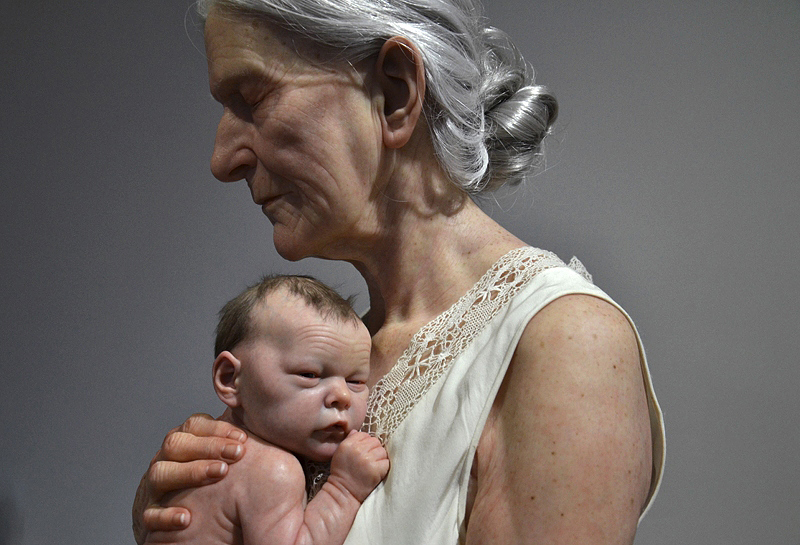 Personal Structures, Venice, Biennale 2013, Sam Jinks, Woman and Boy