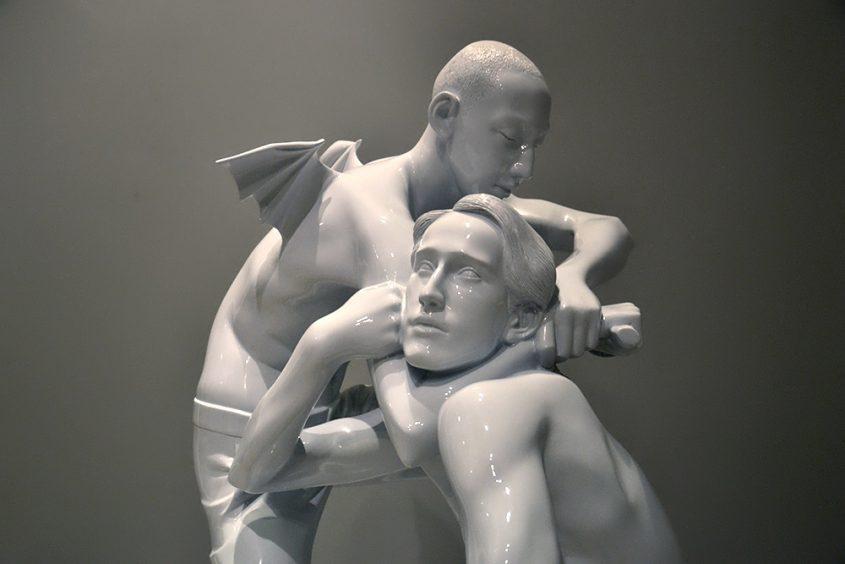 Biennale Venice 2013, AES+F, Last Riot Scuptures No 4 (Two Boys)