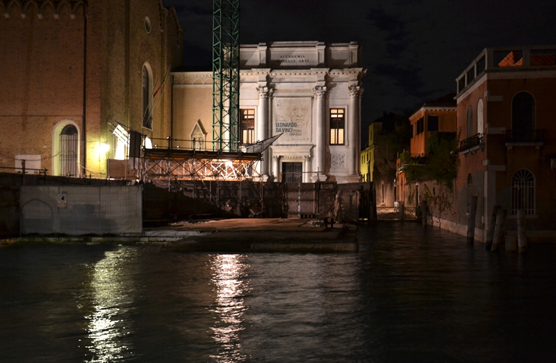 Venice at Night, Gallerie dell'Accademia