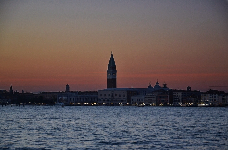 Venice at Night, Campanile di San Marco