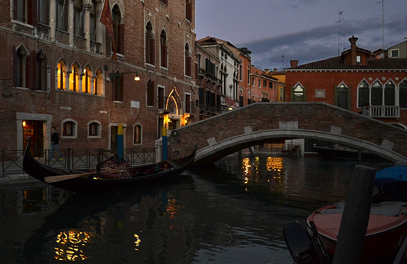 Venice at Night, Rio del Gaffaro