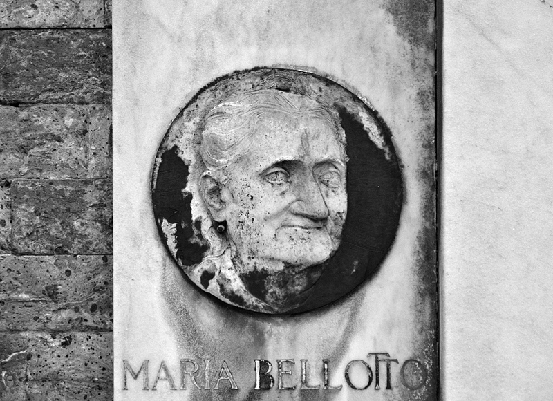 Venice, Isola di San Michele, Maria Bellotto, Tomb