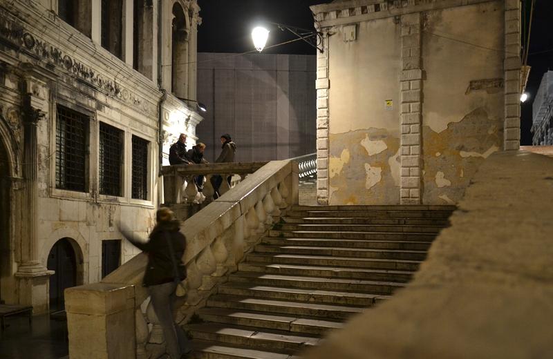 Venice at Night, Palazzo deo Camerlenghi und Ponte di Rialto
