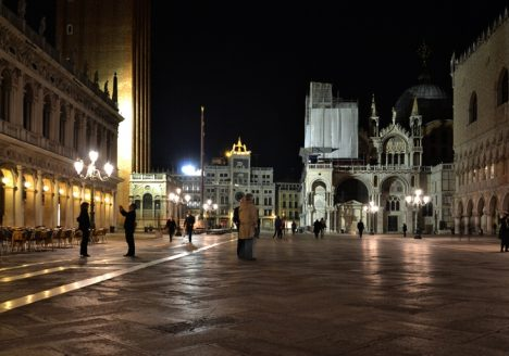 Venice at Night, Piazetta San Marco