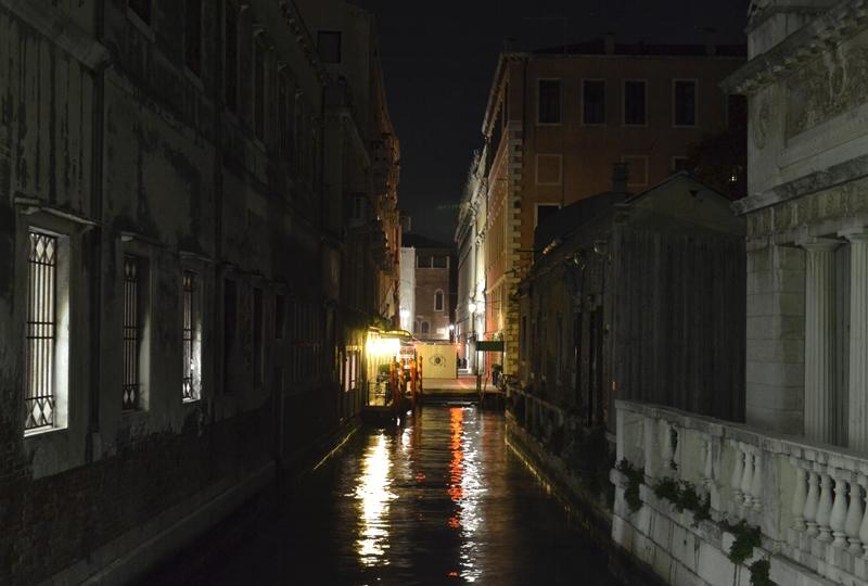 Venice at Night, Rio della Zecca