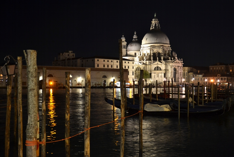 Venice at Night, Santa Maria della Salute