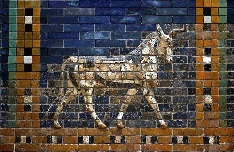 Vorderasiatisches Museum, Drache vom Ischtar-Tor aus Babylon