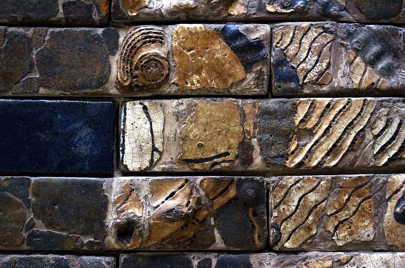 Vorderasiatisches Museum, Stier vom Ischtar-Tor aus Babylon