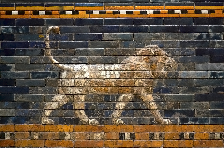 Vorderasiatisches Museum, Löwe an der Prozessionsstraße von Babylon