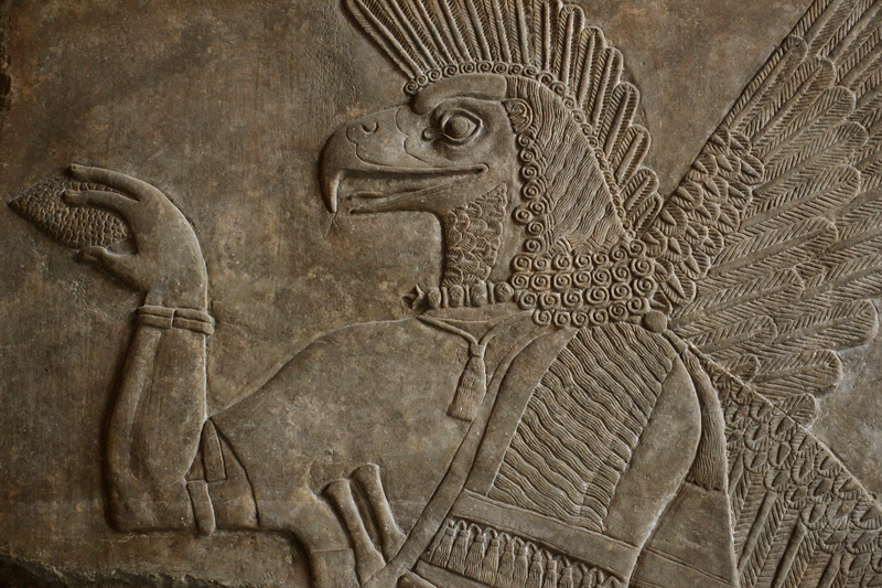 Vorderasiatisches Museum, Apkallu (Assyrischer Genius)