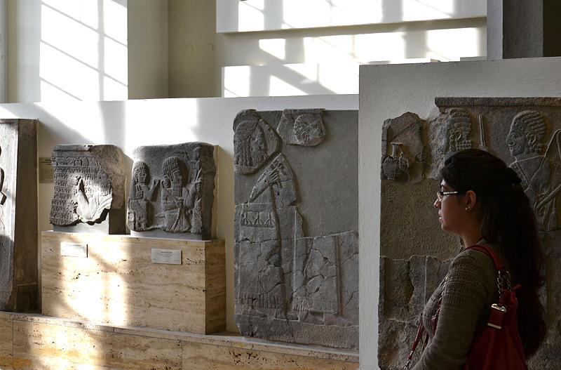Vorderasiatisches Museum, Reliefs aus Zincirli