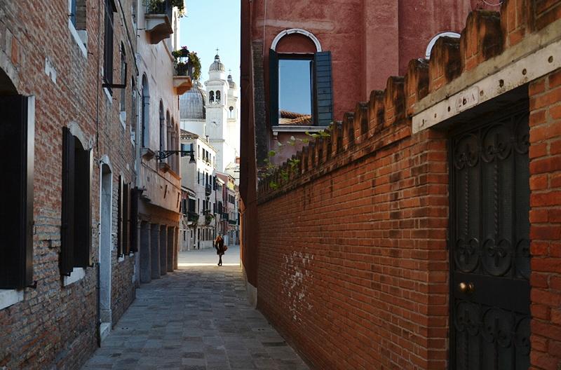 Venedig, Rio Terra Catecumeni und Santa Maria della Salute