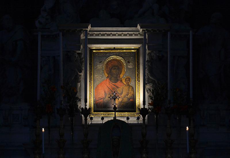 Venedig, Santa Maria della Salute, Madonna