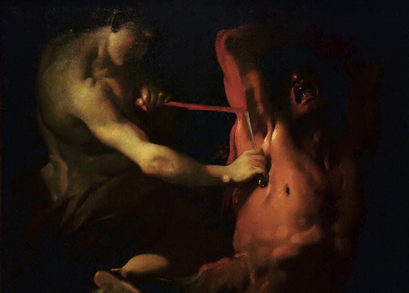 Ludovico Dorigny, Apoll und Marsyas, Museo del Settecento Veneziano - Ca' Rezzonico