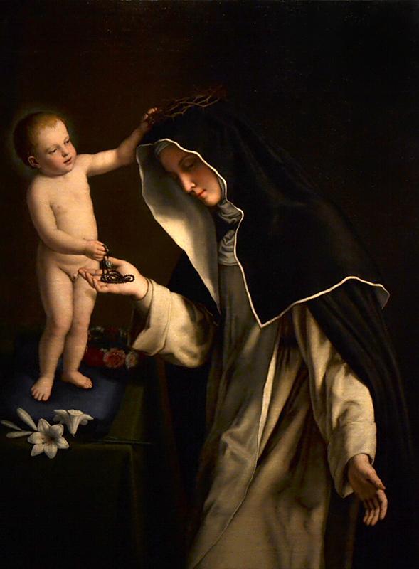 Giovanni Battista Salvi da Sassoferato, Santa Caterina da Siena, Museo del Settecento Veneziano - Ca' Rezzonico
