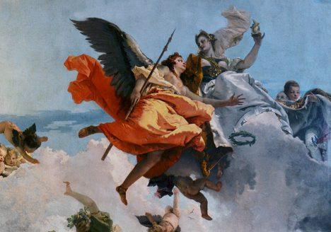 Sala del Tiepolo , Museo del Settecento Veneziano - Ca' Rezzonico