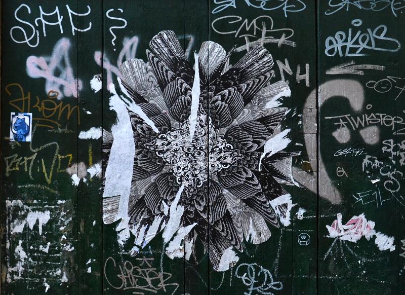 Venidig, Calle del Fabro, Graffiti