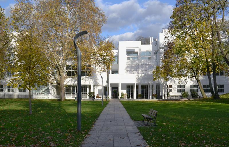 Museum Angewandte Kunst, Frankfurt, Metzlerpark, Richard Maier, Architektur