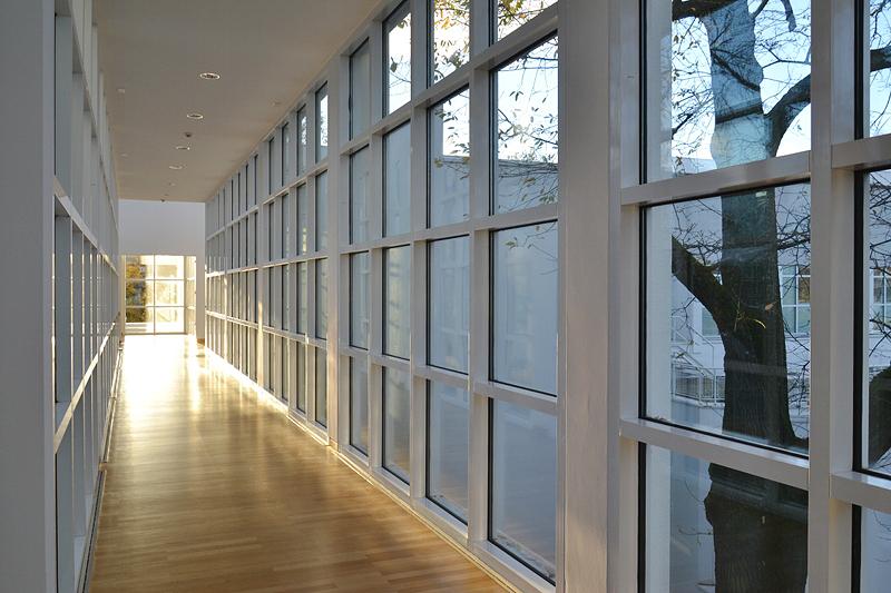 Museum Angewandte Kunst, Innen, Frankfurt, Richard Maier, Architektur