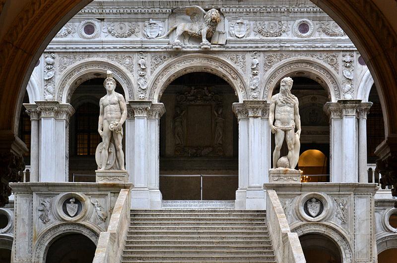 Venice, Palazzo Ducale, Scala dei Giganti