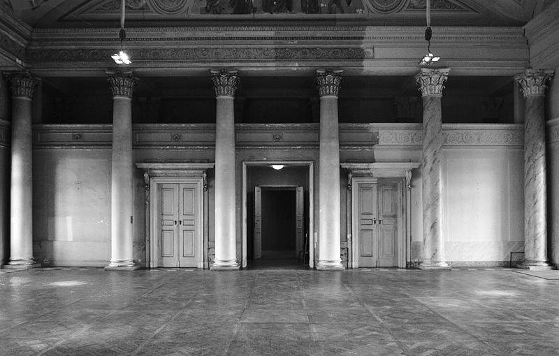 Schloss Pilnitz, Neues Palais, Kuppelsaal