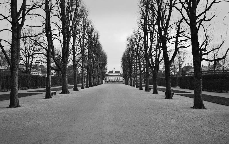 Schloss Pilnitz, Mittelachse, Neues Palais