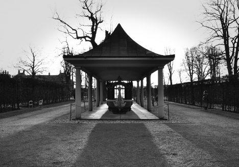 Park Pillnitz, Tritonengondel August des Starken