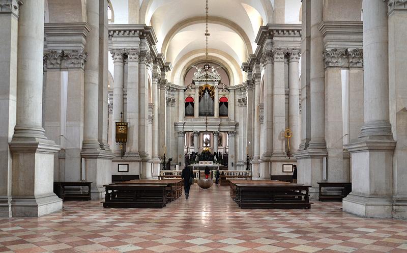 San Giorgio Maggiore, Kirchenraum