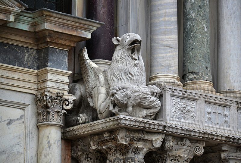 Venice, Basilica di San Marco, Griffin